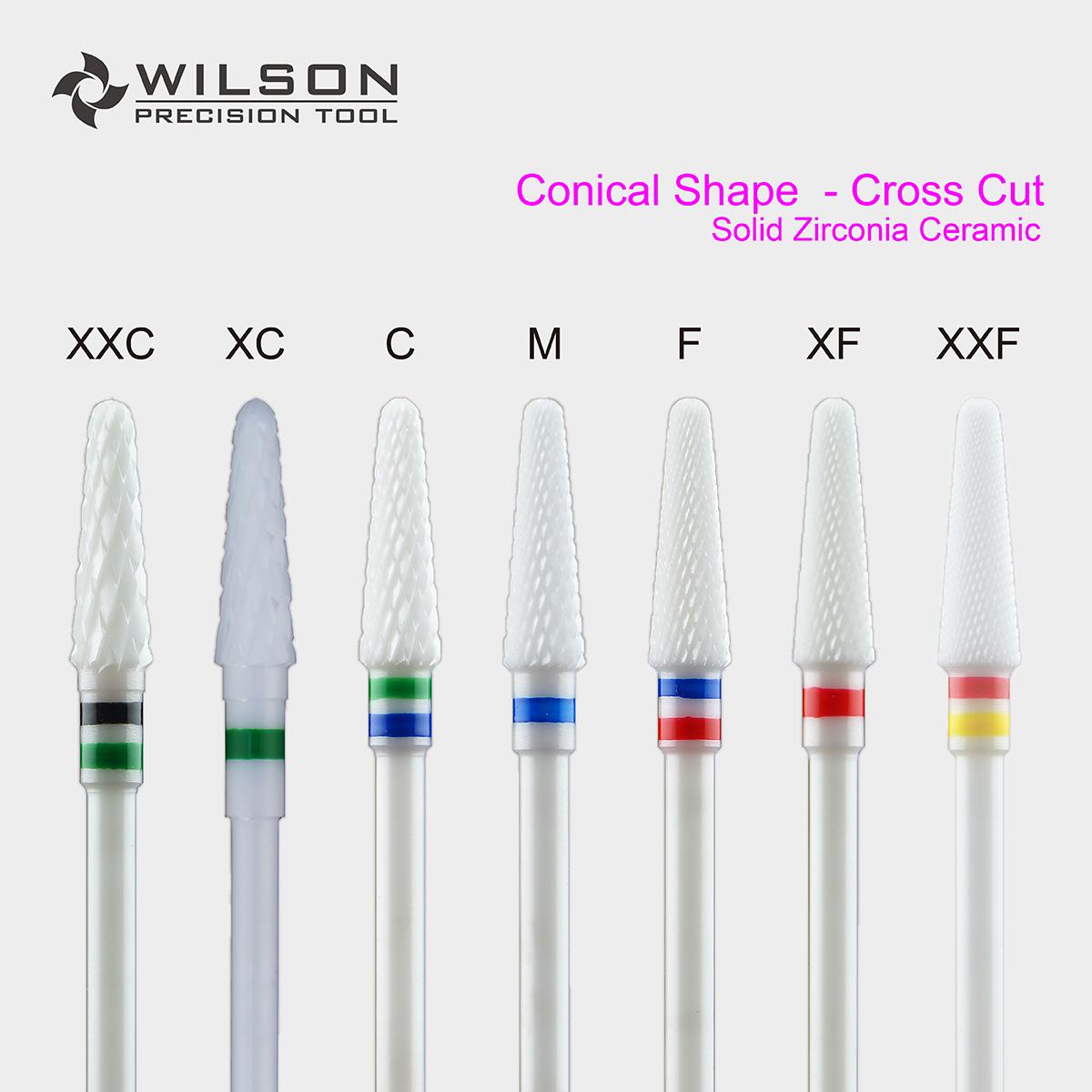 Cone - Solid Zirconia Dental Lab Burs