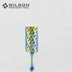 Rainbow Coating - Barrel - Carbide Nail Bits