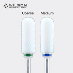 Big Rounded Top- Remove Foot Calluses Bit - White Ceramic Pedicure Drill Bit
