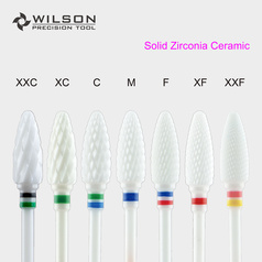 Bullet - Solid Zirconia Dental Lab Burs