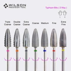 Typhoon Bits - 2way - Carbide Nail Bits
