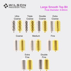Smooth Top - Carbide Nail Bits
