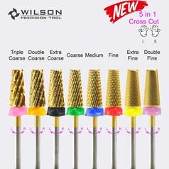7.0mm 5 In 1 Cross Cut - Carbide Nail Bits